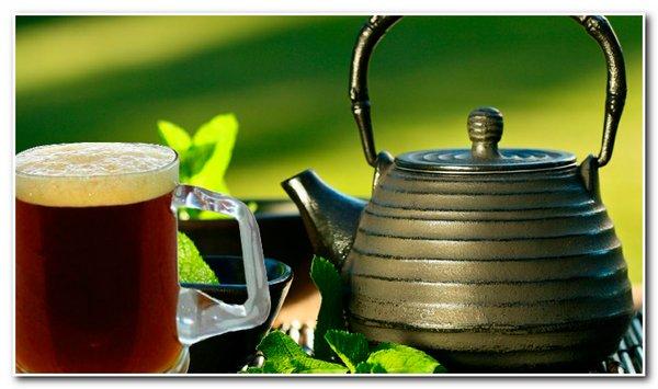 Какой чай берут в баню